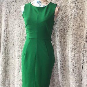 Darling emerald green dress